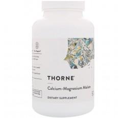 Thorne Research - 칼슘-마그네슘 말산염 - 240 캡슐