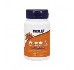 NOW Foods Vitamin A 10000 IU 나우푸드 비타민 100소프트젤