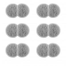 [해외] NRP 애완용 분수 숯 필터  | 2갤론 교체 물 필터 (12팩)