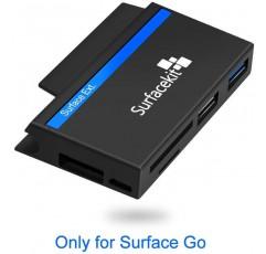 Surfacekit Go Docking SD / Micro SD 카드 리더기 및 USB 포트 2 개 펜 드라이브 및 마이크로 USB DC