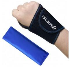 뜨거운 콜드 재사용 가능한 치료를위한 손목 젤 아이스 팩 네오프렌 랩, 손목 관절, 염좌, 관절통, 부기, Tendinitis, 관절염, 스포츠 부상 - 왼쪽 / 오른손 용