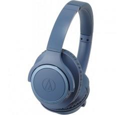 오디오 테크니카 Bluetooth 지원 다이나믹 밀폐형 헤드폰 (블루) audio-technica ATH-SR30BT-BL