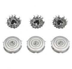 새로운 3 우수한 HQ9 교체 면도기 헤드 블레이드 필립스 Norelco 8140XL 8150XL 8160XL 8170XL 8171XL 8175XL