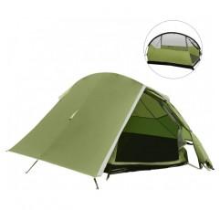 백처 팝업 캠핑 텐트, 울트라 라이트 1-2 인리터 텐트 방수 UV 보호, 더블 스프트 텐트, 트레킹을위한 가방을 들고 야외 / 캠핑 쓰레기 텐트, 캠핑 축제