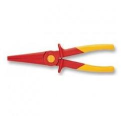 KNIPEX 98 62 02 플라스틱 절연 220mm로 만든 플랫 라운드 펜치