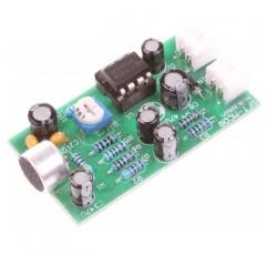 NOYITO 12V 고음질 마이크 픽업 모듈 잡음 감소 마이크 증폭기 보드 고감도 키트 - 감도 조절 가능