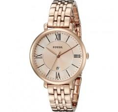 로즈 골드 톤 링크 팔찌의 여성 재클린 시계