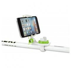 셀프 스키 - 모든 액션 카메라 및 스마트 폰과 호환 되는 유니버설 블루투스 셀카 스틱 마운트 - 원격 안드로이드 및 iOS와 셀카 마운트