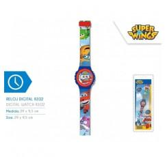디즈니- 슈퍼 윙스 디지털 시계 Ke02, WI17004