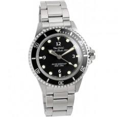 [더 스택 The STAC 일제 국산 클래식 다이버 시계 블랙 스윕 세컨드 시계 38mm Classic Scuba 200 남성 여성