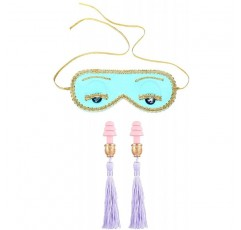 수면 아이 마스크와 귀마개 세트-Tiffany 's에서 아침에 오드리 헵번
