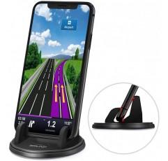 자동차 대시 보드 용 휴대 전화 홀더, 360 ° 회전, 반복 사용, 다양한 대시 보드 용 자동차 폰 마운트, Anti-SlipDesk 폰 스탠드 호환 withFit 모든 스마트 폰, GPS 장치 및 기타
