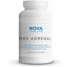 NOVA Three Labs | 최대 부신 2.0 | 에너지 향상, 호르몬 최적화, 정신 집중력 향상 및 복지 향상 | 30 인분