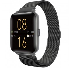 iOS 안드로이드 폰용 Kalakate Smart Watch, IP68 수영 방수 건강 스마트 워치 남성 여성, 스텝 활동 심박수 모니터가 장착 된 종일 활동 피트니스 트래커, 스포츠 시계 (Space Gray)