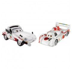Disney Pixar Cars Collector Diecast Shu Todoroki 및 Mach Matsu, 2 팩