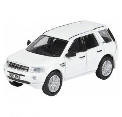 1:76 Fuji White Oxford Diecast Land Rover Freelander