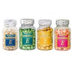 비타민 E 피부용 오일 4 종 세트 - 아보카도 / 알로에 베라 / 로얄 젤리 / 스쿠알렌