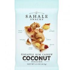 Sahale 스낵 파인애플 럼 캐슈 코코넛 스낵 믹스, 1.5 온스 (18 팩)