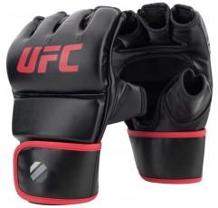 UFC 6oz 휘트니스 장갑 - L / XL - MMA 장갑, 검정색, 대형 / X- 대형