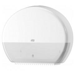 점보 화장지 T1용 Tork 554000 디스펜서 / 흰색의 추가 대용량의 토크 화장지 디스펜서